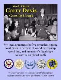 Cover of Garry Davis Goes to Court