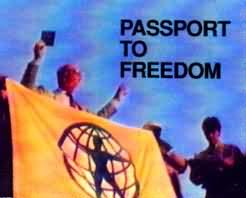Cover of passport to freedom